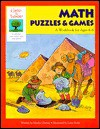 Gifted and Talented: Math Puzzles and Games: A Workbook for Ages 4-6 (Gifted & Talented Series) - Martha Cheney