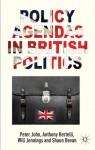 Policy Agendas in British Politics - Peter John, Anthony Bertelli, Will Jennings, Shaun Bevan