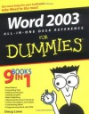 Word 2003 All-in-One Desk Reference For Dummies - Doug Lowe