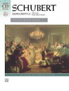 Schubert: Impromptus, Opus 90 for the Piano [With CD (Audio)] - Franz Schubert, Murray Baylor