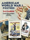 Cards: American World War I Posters: 24 Cards - NOT A BOOK