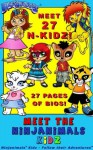 The Ninjanimals Kidz (The Ninjanimals Kidz Stories) - Rachel Zuckerman, Peter Yim, Hatem Aly
