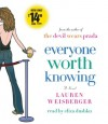 Everyone Worth Knowing - Lauren Weisberger