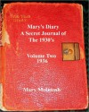 Mary's Diary (A Secret Journal of the 1930s - Volume Two 1936) - Mary McIntosh