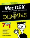 Mac Os X All In One Desk Reference For Dummies - Mark L. Chambers, Erick Tejkowski, Michael L. Williams