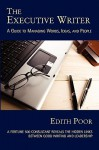 The Executive Writer - Edith Poor