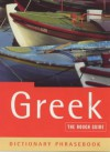 The Rough Guide to Greek 2: Dictionary Phrasebook - Lexus Ltd.