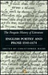 English Poetry and Prose 1540-1674 - Christopher Ricks, Various