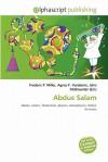 Abdus Salam - Frederic P. Miller, Agnes F. Vandome, John McBrewster