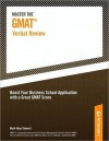 Master the GMAT--Verbal Review - Peterson's, Mark Alan Stewart