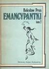 Emancypantki tom 2 - Bolesław Prus