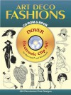Art Deco Fashions CD-ROM and Book - Dover Publications Inc.