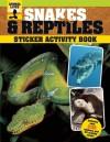Snakes and Reptiles Sticker Activity Book - Sally Morgan