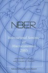 NBER International Seminar on Macroeconomics - Jeffrey A. Frankel, Christopher A. Pissarides