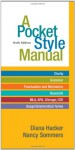 A Pocket Style Manual - Diana Hacker, Nancy Sommers