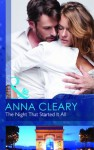 The Night That Started It All - Anna Cleary