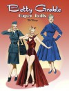 Betty Grable Paper Dolls - Tom Tierney