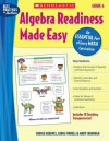 Algebra Readiness Made Easy: Grade 6: An Essential Part of Every Math Curriculum - Mary Cavanagh, Carole E. Greenes, Carol Findell