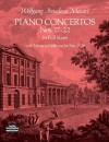 Piano Concertos Nos. 17-22 in Full Score - Wolfgang Amadeus Mozart