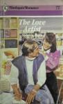 Love Artist (Harlequin Romance #2860) - Valerie Parv