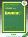Accountant I (Passbook Series. Passbooks For Career Opportunities) (Career Examination Passbooks) - Jack Rudman