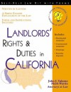 Landlord's Rights & Duties in California - John Talamo, Mark Warda