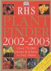 RHS Plant Finder (Rhs) - David Macaulay, Neil Buchanan, Robert Burton