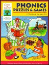 Phonics Puzzles & Games: A Workbook For Ages 6 8 (Gifted & Talented) - Martha Cheney