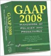 GAAP Handbook of Policies and Procedures [With CDROM] - Joel G. Siegel, Marc H. Levine