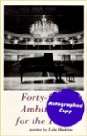 Forty-Four Ambitions for the Piano - Lola Haskins
