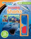 Discovery 3D Sticker: Incredible Sharks - Parragon Books