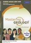 Masteringgeology with Pearson Etext -- Standalone Access Card -- For Foundations of Earth Science - Frederick K. Lutgens, Edward J. Tarbuck, Dennis Tasa
