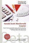 Harold Scott MacDonald Coxeter - Lambert M. Surhone, Mariam T. Tennoe, Susan F. Henssonow