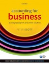 Accounting for Business: An Integrated Print and Online Solution - Peter Scott