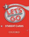 Let's Go 1 Student Cards - Oxford University Press, Karen Frazier, Barbara Hoskins, Carolyn Graham