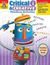 Critical and Creative Thinking Activities, Grade 4 - Evan-Moor Educational Publishers