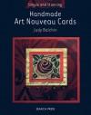 Handmade Art Nouveau Cards - Judy Balchin