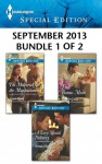 Harlequin Special Edition September 2013 - Bundle 1 of 2: The Maverick & the ManhattaniteA Very Special DeliveryThe Bonus Mom - Leanne Banks, Brenda Harlen, Jennifer Greene