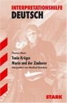 Thomas Mann, Tonio Kröger Mario Und Der Zauberer - Manfred Eisenbeis, Thomas Mann