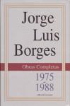 Obras Completas IV, 1975-1988 - Jorge Luis Borges