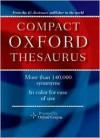 Oxford Compact Thesaurus - Erin McKean