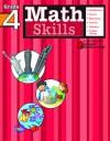 Math Skills: Grade 4 (Flash Kids Harcourt Family Learning) - Flash Kids Editors, Flash Kids