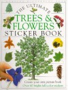 Ultimate Sticker Books: Trees and Flowers - Camela Decaire, Susan St. Louis