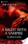 A Night with a Vampire - Cynthia Cooke