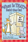 What Is That? Said The Cat (level 1) (Hello Reader) - Grace Maccarone, Jeffrey Scherer