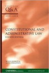 Q&A Constitutional and Administrative Law, 2003-2004 - Helen Fenwick, Gavin Phillipson