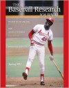 Baseball Research Journal (BRJ), Volume 41 #1 - Society for American Baseball Research (SABR)