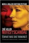 Notes on a Scandal - Zoë Heller