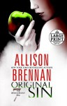Original Sin (The Seven Deadly Sins, #1) - Allison Brennan