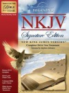NKJV - Signature Edition –Bible On DVD –New King James Version - Anonymous, Stephen Johnston